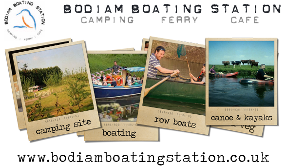 Bodiam Boating Station Camping, Ferry, Cafe
