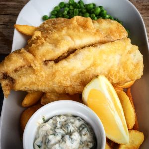 fish'n'chips lime wharf cafe